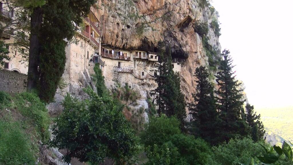 Klooster in de Peleponnesos (Griekenland